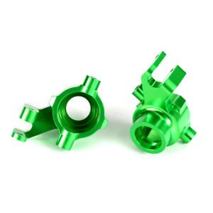 Steering Blocks, Aluminum, Green, Left and Right: 8937G