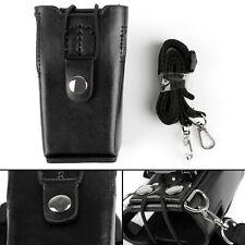 Leather Holder Case For Kenwood TK-2100 TK-2107 TK-3100 TK-3107 2-Way Radio GB