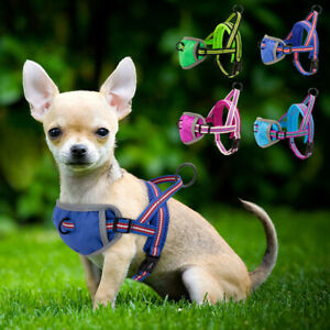 No Pull Dog Harness Front Lead Reflective Padded Adjustable for Small Medium Dog
