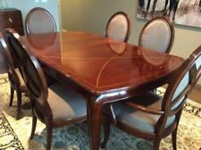 Thomasville Dining set, Bogart collection. Table & 6 chairs with pads, excellent