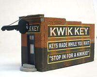 Downtown Deco HO Scale Building Kit Hydrocal Craftsman Kwik Key