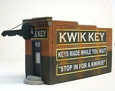 Downtown Deco HO HOn3 Scale Building Kit Hydrocal Craftsman Kwik Key