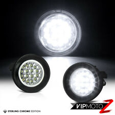2001-03 Dodge Dakota/04 Durango Ultra Bright White LED Fog Light Lamp+Wiring Set