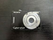 Sony Cyber-shot DSC-W55 7.2MP Digital Camera - Black