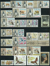 Fujeira - 62 stamps mixed - Years 1964 to......