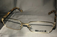 Spy Hunter Glasses Gold Used Good Condition No Lenses (163)