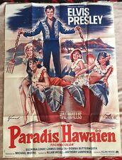 Elvis Original Filmplakat Paradis Hawaien 1966 Hawaii Poster XXL RARE French