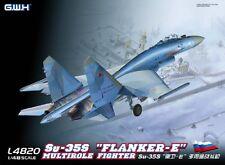 """GreatWall 1/48 L4820 Russian Su-35S """"Flanker-E"""" Multirole Fighter"""