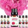 10ml Pure Essential Oils Aromatherapy Organic Oil Therapeutic Fragrance Diffuser