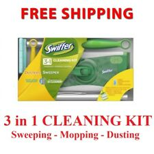Swiffer Sweeper 3-in-1 Cleaning Kit Sweeping Mopping Dusting