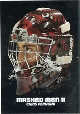 09/10 BETWEEN THE PIPES MASKED MEN II MASK SILVER #MM-48 CHRIS PERUGINI *44383