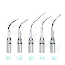 10pcs Dental Ultrasonic Scaler Scaling Tips G1-G5 For Woodpecker / EMS Handpiece