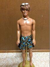 Barbie Cali Girl Guy Ken Doll Surf Boy Rooted Hair Blue Eye Blaine Beach