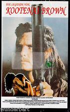 """VHS - neu & ovp - """" Die Legende von Kootenai BROWN """" (1991) - Tom Burlinson"""