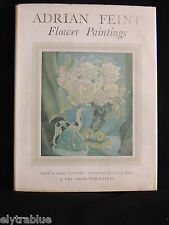 ADRIAN FEINT FLOWER PAINTINGS-Ed. SYDNEY URE SMITH-LTD ED/1948/SIGNED by ARTIST