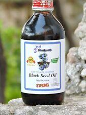 RAW BLACK SEED OIL - BLACK CUMIN (NIGELLA SATIVA) COLD PRESSED UNREFINED 500ml.