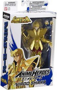 Anime Heroes Saint Seiya Action Figure - Virgo Shaka *BRAND NEW*