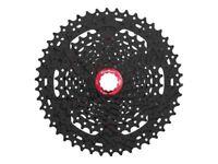 Sunrace 10-fach Kassette CSMX3 11-46 Zähne schwarz mit rotem Lockring