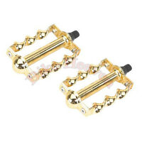 """NEW!!Lowrider Bike GOLD Double Butterfly Square TWlSTEDcPedaIs 1//2/"""" Show Bicycle"""
