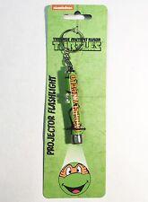TMNT Teenage Mutant Ninja Turtles Michelangelo - Projector Flashlight Keychain