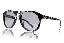 New Retro Womens Mens MCQUEEN Sunglasses 100% UV Monochrome Marble