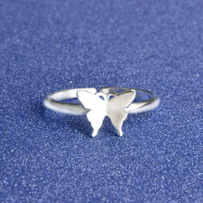Silver Butterfly Ring ~ Finger Ring Animal Jewellery