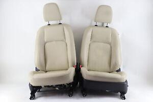 Lexus CT200H 11-13 Front Tan Driver Right/Left Passenger/Driver Leather OEM A887
