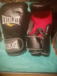 Everlast MMA Heavy Bag Gloves, Color: Black, Size: L/XL