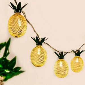 Pineapple String Lights 10ft LED Fairy String Lights