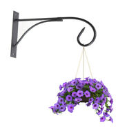 1 Pc Hanging Shelf Wrought Iron Flower Pot Retro Stands Holders for Living Room