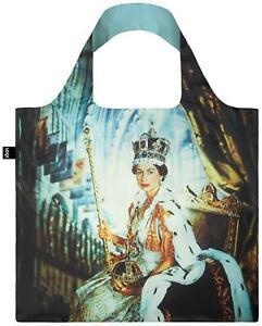 LOQI Tote Shopping Bag 1953 Coronation Portrait of Queen Elizabeth II by Beaton
