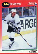 Wayne Gretzky 1991-1992 Score Canadian English # 100