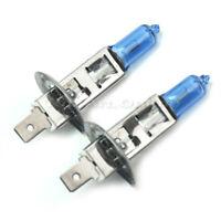 2X H1 100W AMPOULE LAMPE HALOGENE XENON BLANC PHARE 12V POUR AUTO VOITURE 6000K