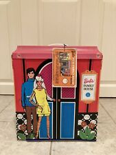 Vintage Barbie Doll Family House + Furniture w/original tag - Mattel - Pls Read