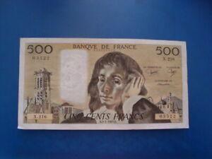 500   FRANCS   PASCAL  1985    X 216