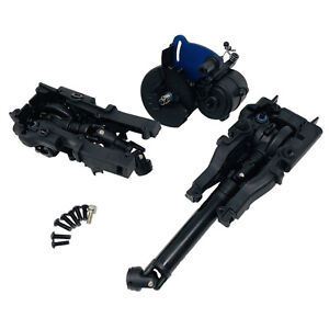 Traxxas Summit 1/10 Complete Front, Rear Diff & Centre Driveshaft - Gearbox New