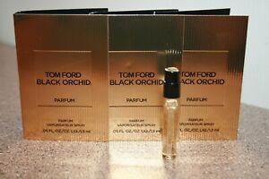 3 × Tom Ford Black Orchid Eau De Parfum EDP Perfume 1.5mL / .05 oz Samples = .15