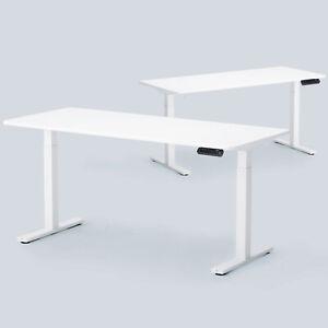 Dual Motor Tischgestell Schreibtisch Elektrisch Höhenverstellbar Schwarz or Weiß