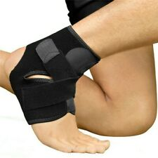 Foot Ankle Support Brace Strap Wrap Protector Neoprene Velcro Anti Sprain UK FAS