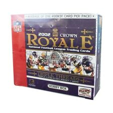 2002 Pacific Crown Royale Football Hobby Box
