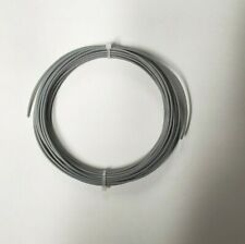 24 Awg Mil Spec Wire Grey Ptfe Stranded Silver Plated Copper 25 Ft