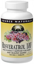 Source Naturals Resveratrol 100 mg - 30 Tablets
