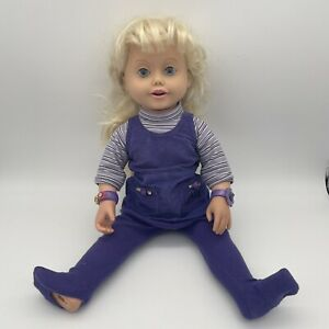 AMAZING ALLY - LETS PLAY TEA PARTY TOY TALKING DOLL WORKS GREAT