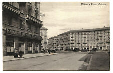 MILANO, PIAZZA CAIAZZO, BAR CAFFE' BELLA VISTA, AUTO D'EPOCA, 1930     m