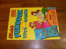 ELSIE'S FUNBOOK (of) CUT OUT TOYS AND GAMES, elsie the cow, borden, milk