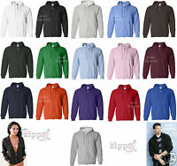 24 Gildan Heavy Blend Full Zip Hooded Sweatshirt Hoodie 18600 S-XL Wholesale