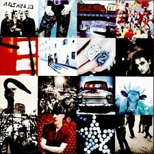U2 Achtung Baby Music CD 1991 / Zoo Station / Even Better Than the Real Thing