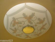 Vintage Lighting very low Mid Century Modern ceiling light