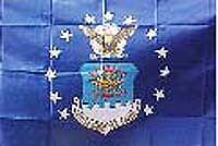 Air Force RV NASCAR Toy Box Trailer Home Flag #R-0023