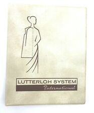 Lutterloh System International Golden Rule Pattern Cutting Method Book Only.